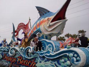 2013  Mardi Gras Schedule - Orange Beach