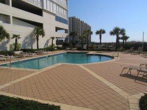 Perdido Place Condos Orange Beach AL - Pool Deck