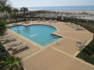 Perdido Place Condos Orange Beach AL - Pool view