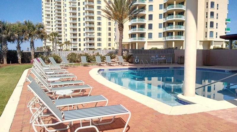 La Playa Condo Perdido Key Pool Deck